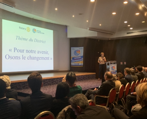 Rotary Paris Agora : Université d'Automne 2018