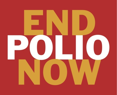 End Polio Now, le programme de lutte contre la Polio du Rotary International